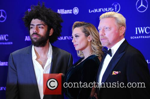 Noah Becker, Lilly Becker and Boris Becker 9