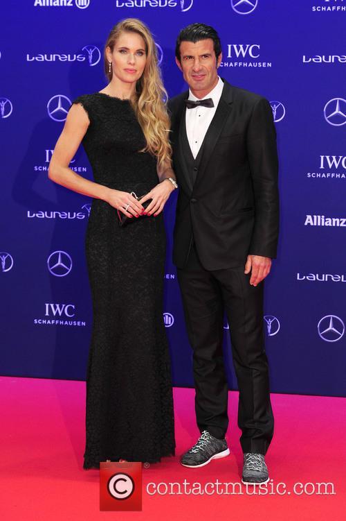 Helen Svedin and Luis Figo 2