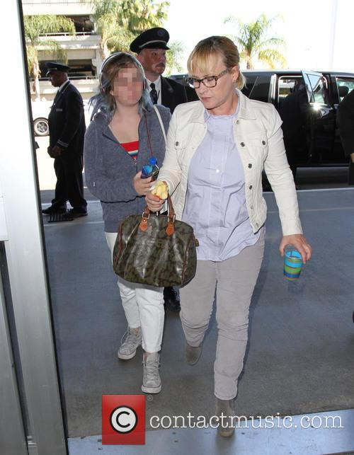 Patricia Arquette and Harlow Olivia Calliope Jane 5