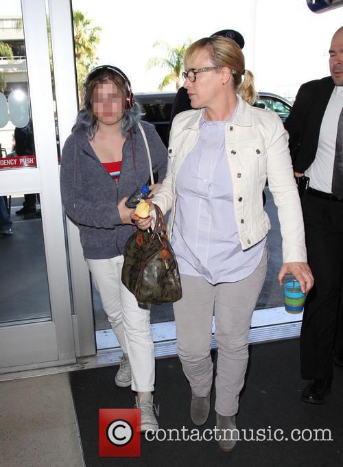 Patricia Arquette and Harlow Olivia Calliope Jane 6