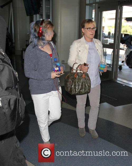 Patricia Arquette and Harlow Olivia Calliope Jane 8