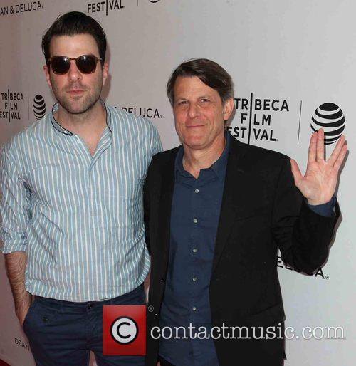 Zachary Quinto and Adam Nimoy 1