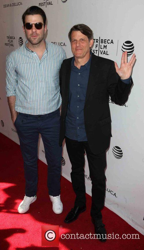 Zachary Quinto and Adam Nimoy 2