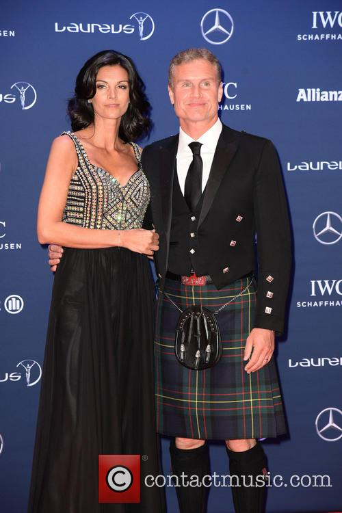 Karen Minier and David Coulthard 1