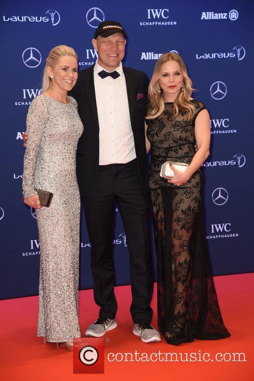 Patricia Schulz, Axel Schulz and Regina Halmich 1