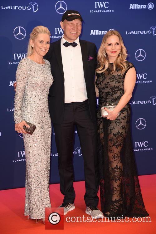 Patricia Schulz, Axel Schulz and Regina Halmich 3