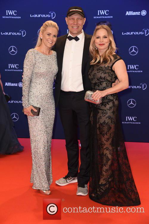 Patricia Schulz, Axel Schulz and Regina Halmich 4