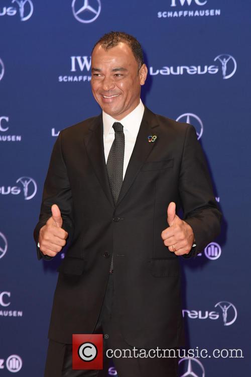 Marcos Evangelista De Moraes and Cafu 6