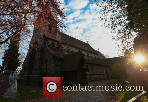 Ronnie Corbett and The Parish Church Of St. John The Evangelist 2