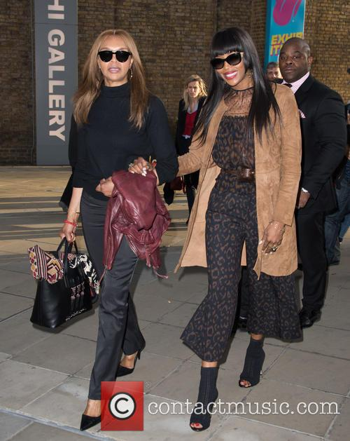 Naomi Campbell and Valerie Campbell 1