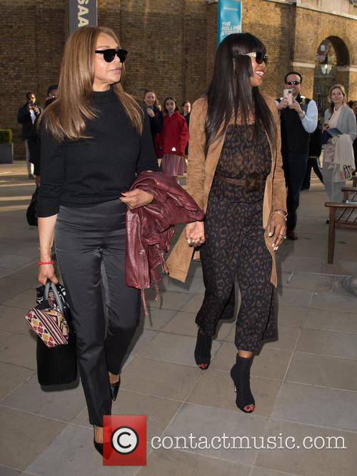 Naomi Campbell and Valerie Campbell 2