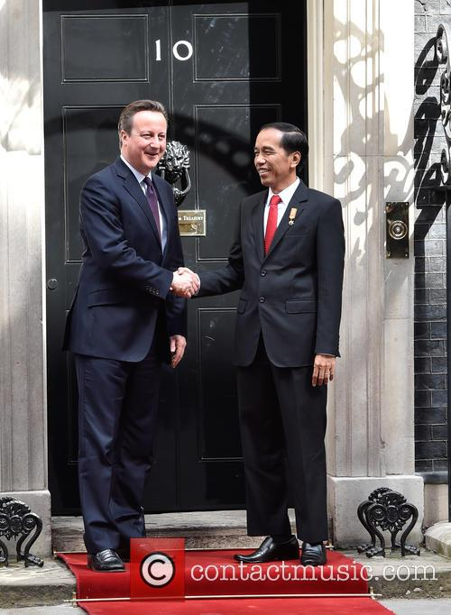 David Cameron and Joko Widodo 5