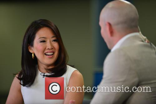 Cnbc Anchor Melissa Lee and Armando