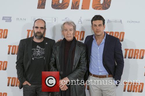Luis Tosar, Jose Sacristan and Mario Casas