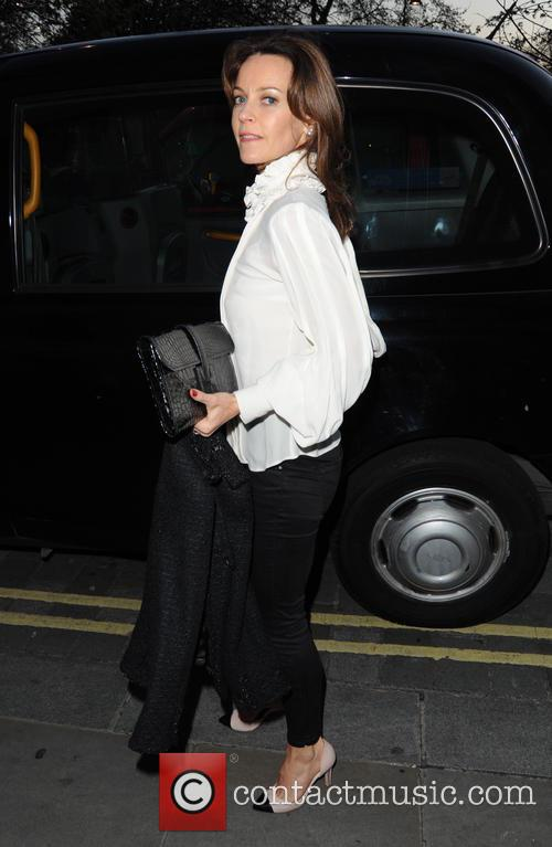 Celebrities arrive at Nobu in Mayfair, London