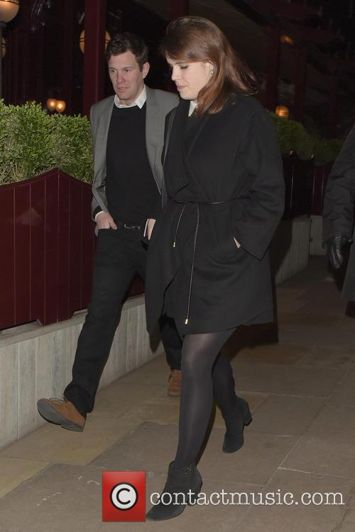 Princess Eugenie of York leaves Loulou's
