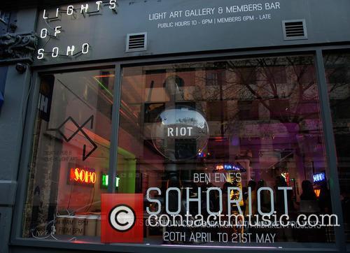 Soho Riot and Window 1