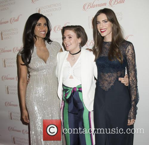 Padma Lakshmi, Lena Dunham and Allison Williams 1