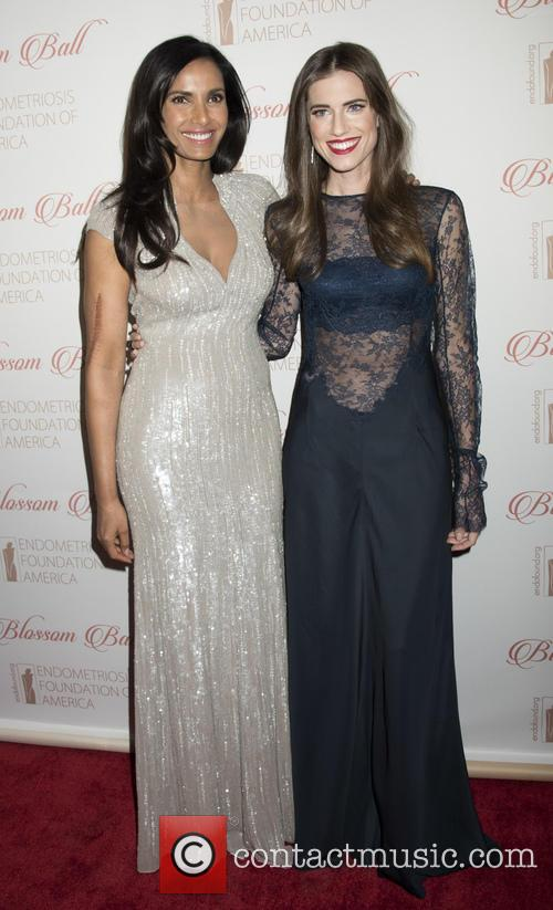 Padma Lakshmi and Allison Williams 10