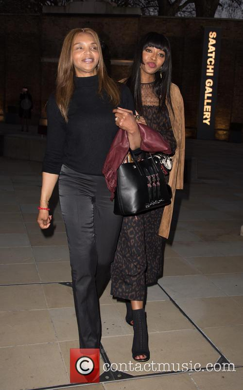 Naomi Campbell and Valerie Campbell 4