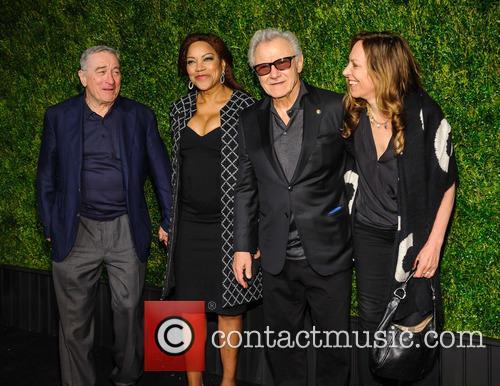 Robert De Niro, Grace Hightower, Harvey Keitel and Daphna Kastner