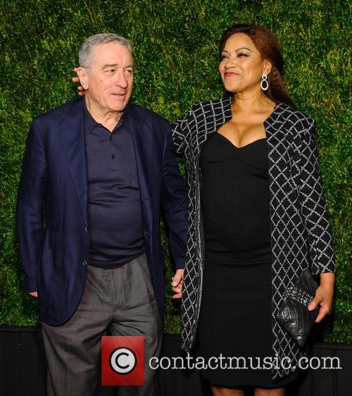 Robert De Niro and Grace Hightower 3