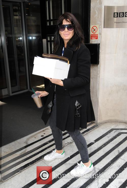 Claudia Winkleman at The BBC