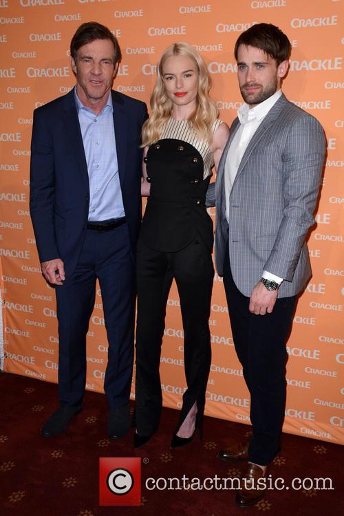Dennis Quaid, Kate Bosworth and Christian Cooke