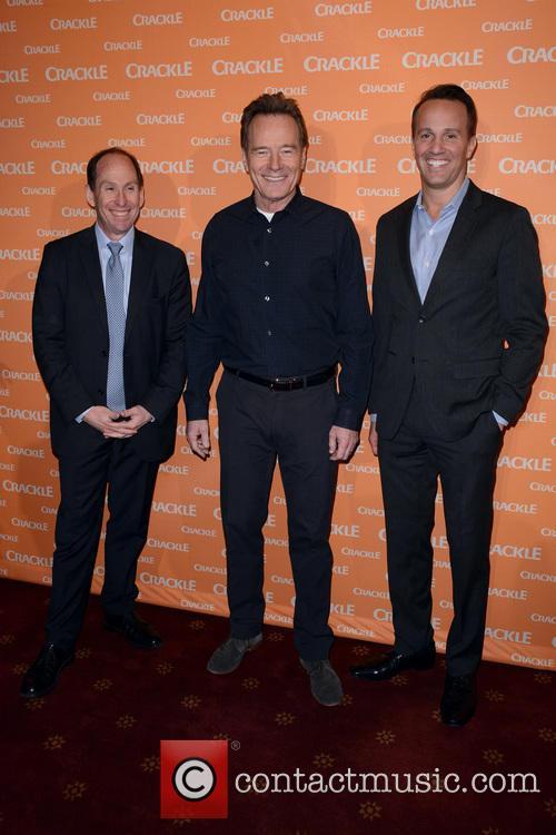 Andy Kaplan, Bryan Cranston and Eric Berger 1