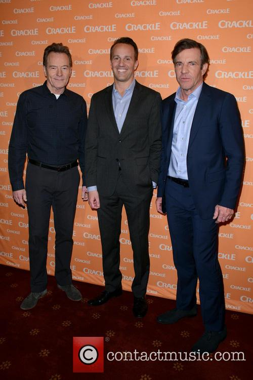 Bryan Cranston, Eric Berger and Dennis Quaid 8
