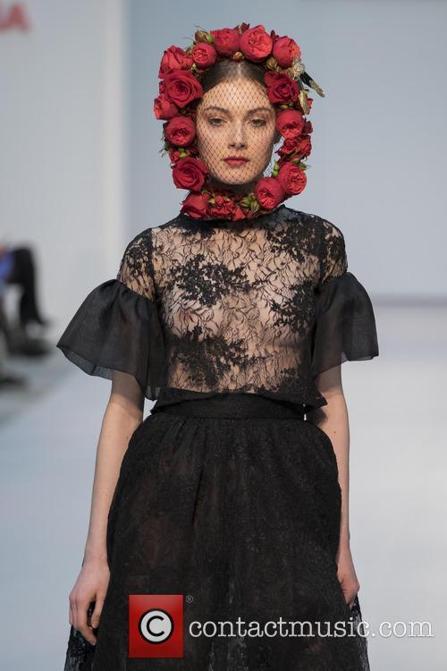3f55eabaf Model - De la Cierva y Nicolas Bridal Show - Pasarela Costura held at ...