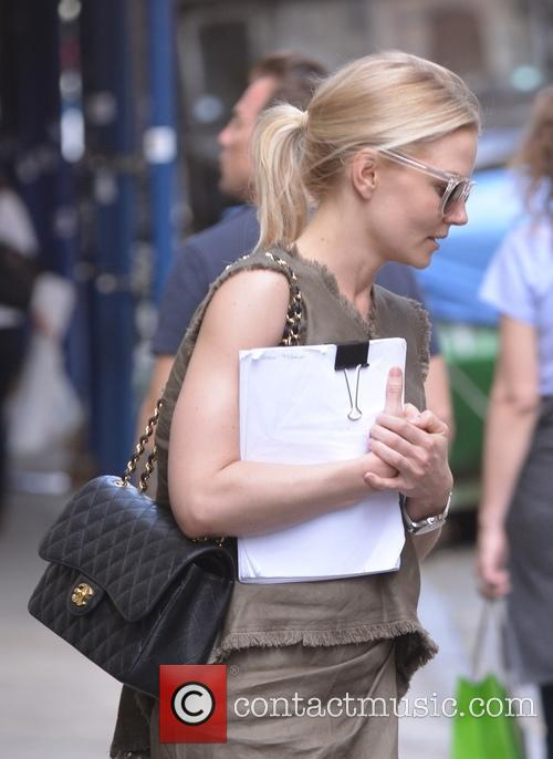 Jennifer Morrison out and about in Soho