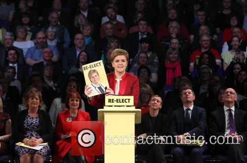 Scotland's First Minister and Snp Leader Nicola Sturgeon 2