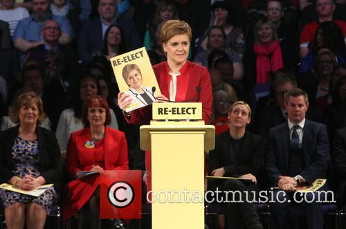 Scotland's First Minister and Snp Leader Nicola Sturgeon 3