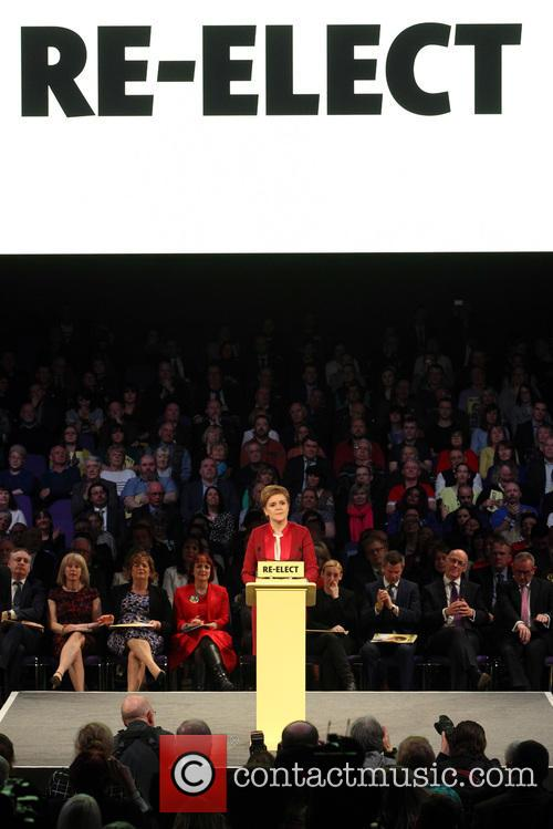Scotland's First Minister and Snp Leader Nicola Sturgeon 4