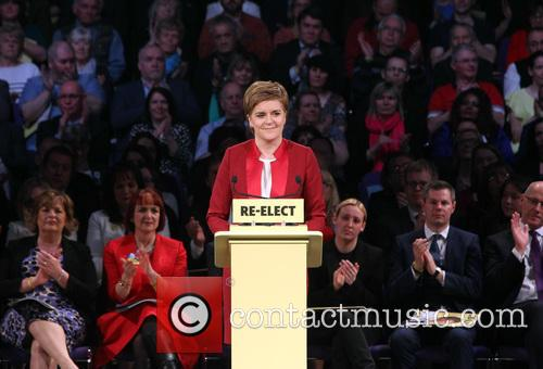 Scotland's First Minister and Snp Leader Nicola Sturgeon 6
