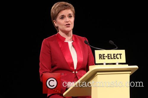 Scotland's First Minister and Snp Leader Nicola Sturgeon 7