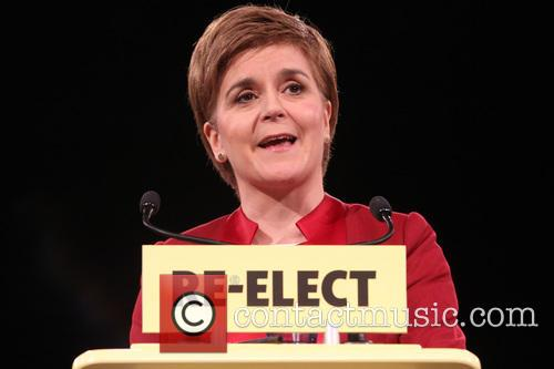 Scotland's First Minister and Snp Leader Nicola Sturgeon 8