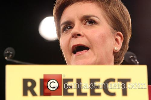 Scotland's First Minister and Snp Leader Nicola Sturgeon 9