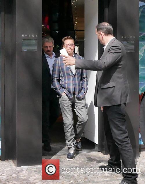 Robert Downey Jr. and Robert Downey Junior 2