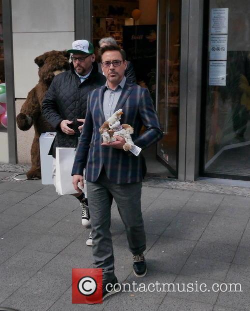 Robert Downey Jr. and Robert Downey Junior 7