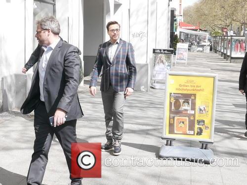 Robert Downey Jr. and Robert Downey Junior 8