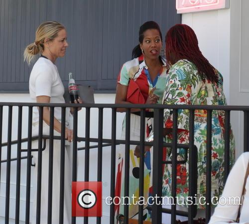 Maria Bello and Regina King 6