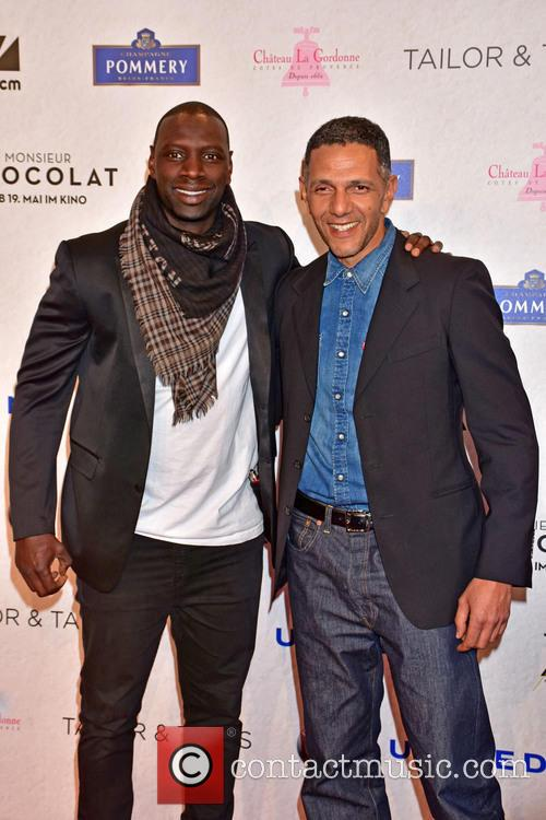 Omar Sy and Roschdy Zem 2