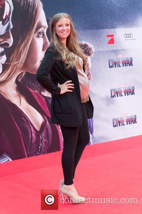 Nina Eichinger (pregnant) 2