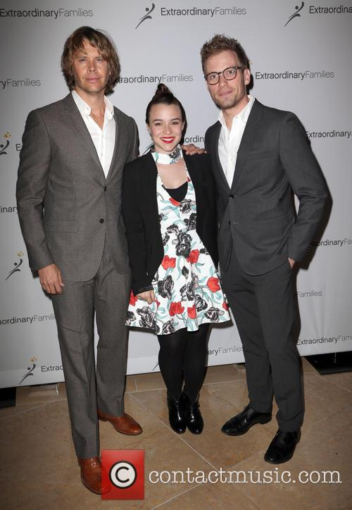 Eric Christian Olsen, Renée Felice Smith and Barrett Foa 11