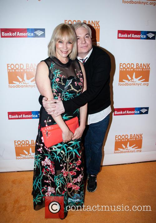 Mike Myers and wife