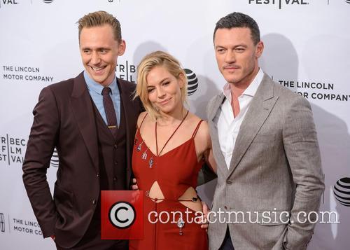 Luke Evans, Sienna Miller and Tom Hiddleston 3