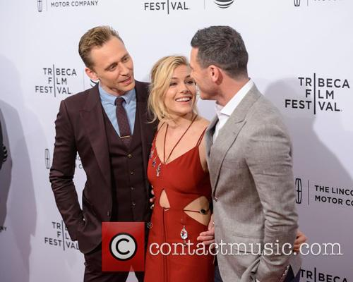 Luke Evans, Sienna Miller and Tom Hiddleston 4