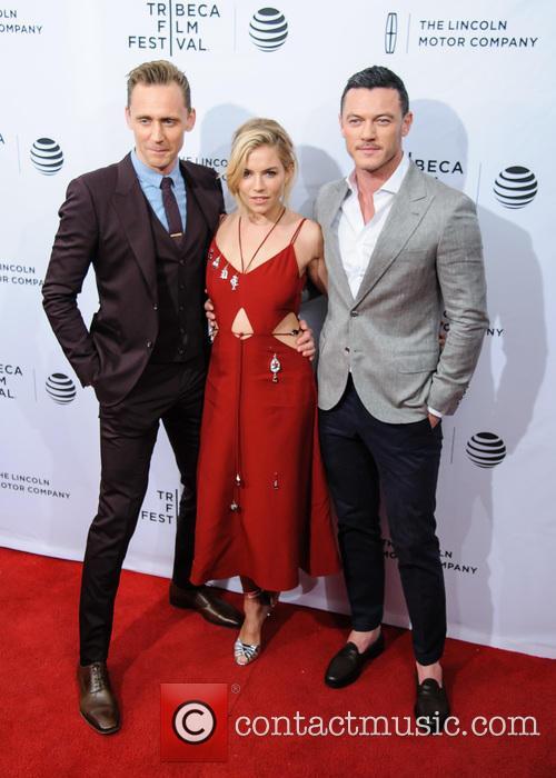 Luke Evans, Sienna Miller and Tom Hiddleston 9